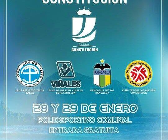 "Copa Futsal ""Perla del Maule"""