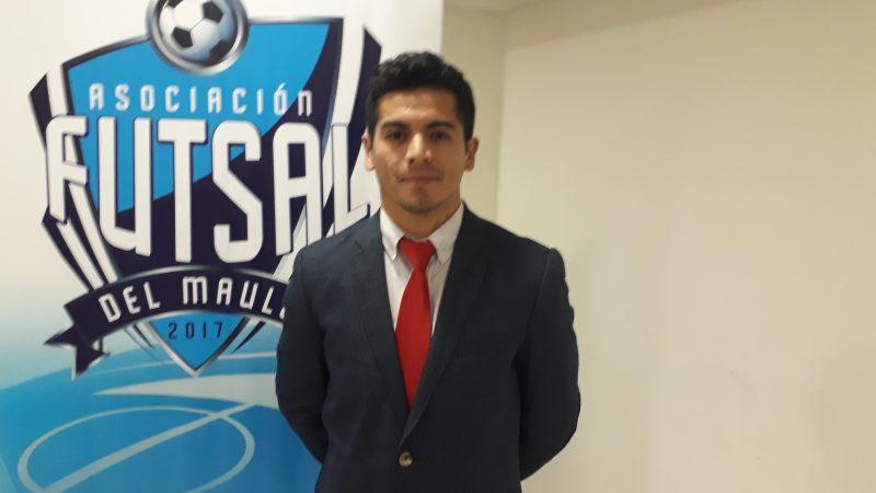Fernando Andrade Presidente Asociación Regional de Futsal