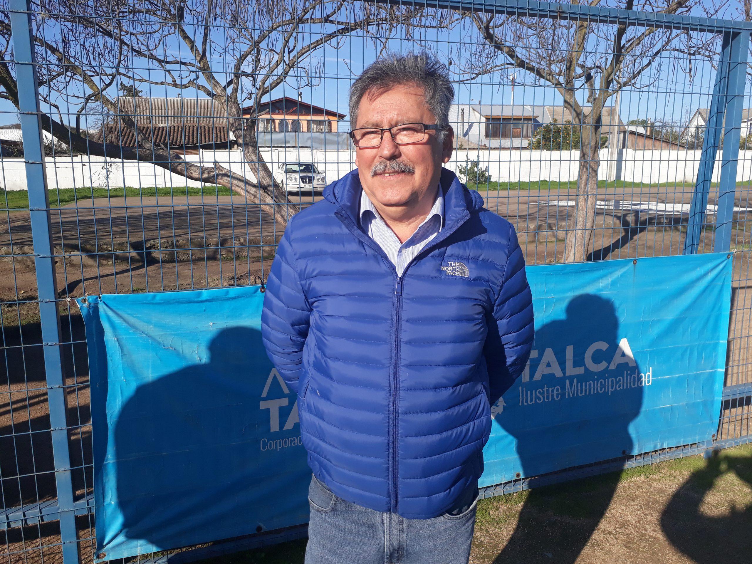 Héctor Oyarzún Presidente del Consejo Local de Deportes de Talca