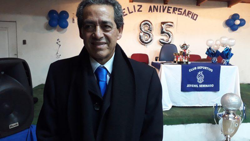 Nibaldo Rojas. presidente del Juvenil Seminario