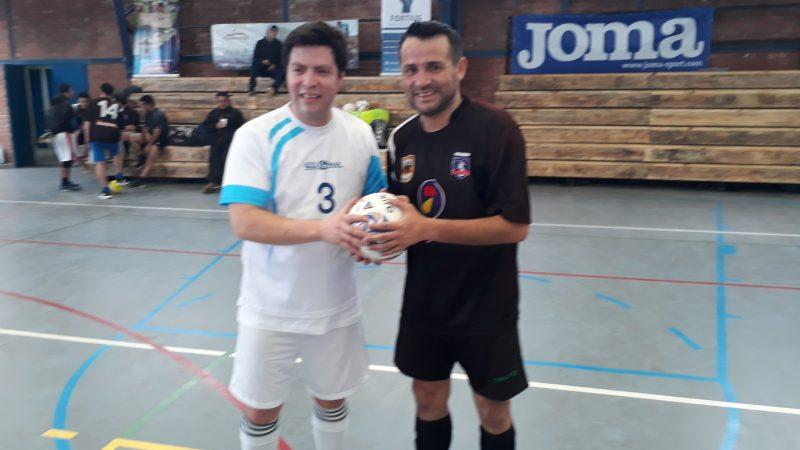 Futsal la fiesta se llevo a Cumpeo