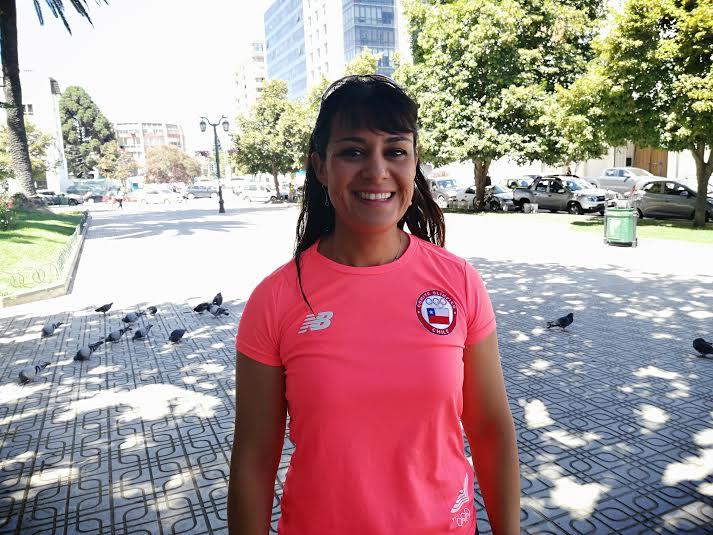 Fabiola Zamorano Seleccionada Chilena de Canotaje