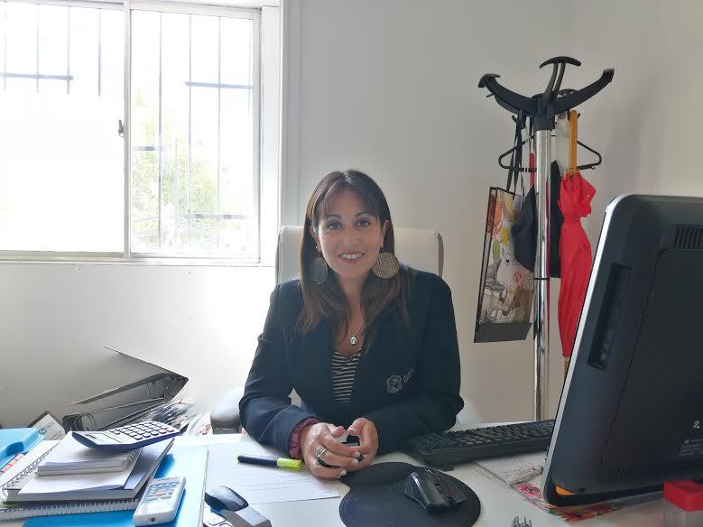 Jocelyn Brito Directora Ejecutiva Corporacion Municipal de Deportes.