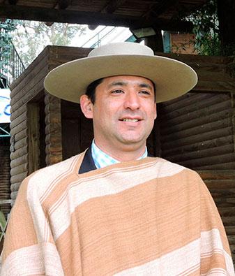 Gaston Opazo Presidente Asoc. Rodeo de Talca.