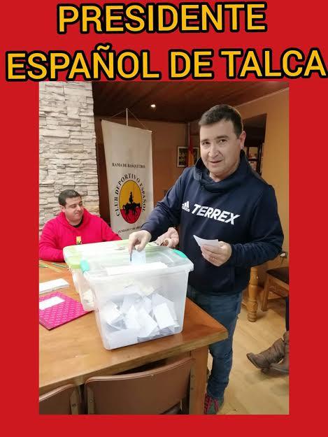 Ricardo Neira presidente de Municipal Español de Talca.