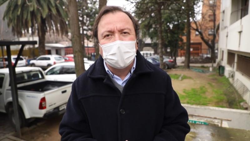 Alcalde Juan Carlos Díaz se refiere al retiro del 10% y  los comedores solidarios de la ciudad Talca.
