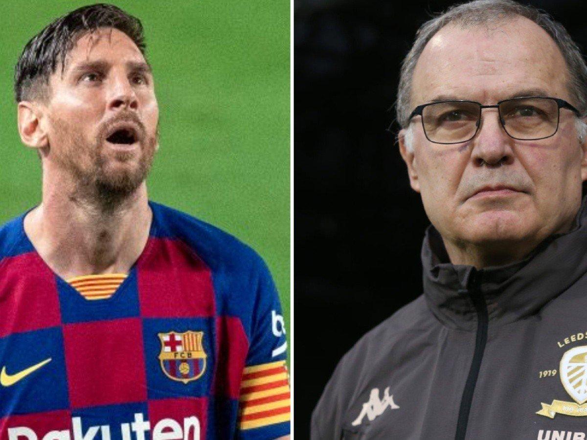 Leonel Messi pide a Marcelo Bielsa.