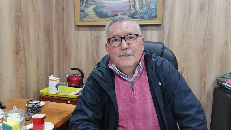 Héctor Oyarzun Gaete Presidente del Consejo Local de Deportes de Talca