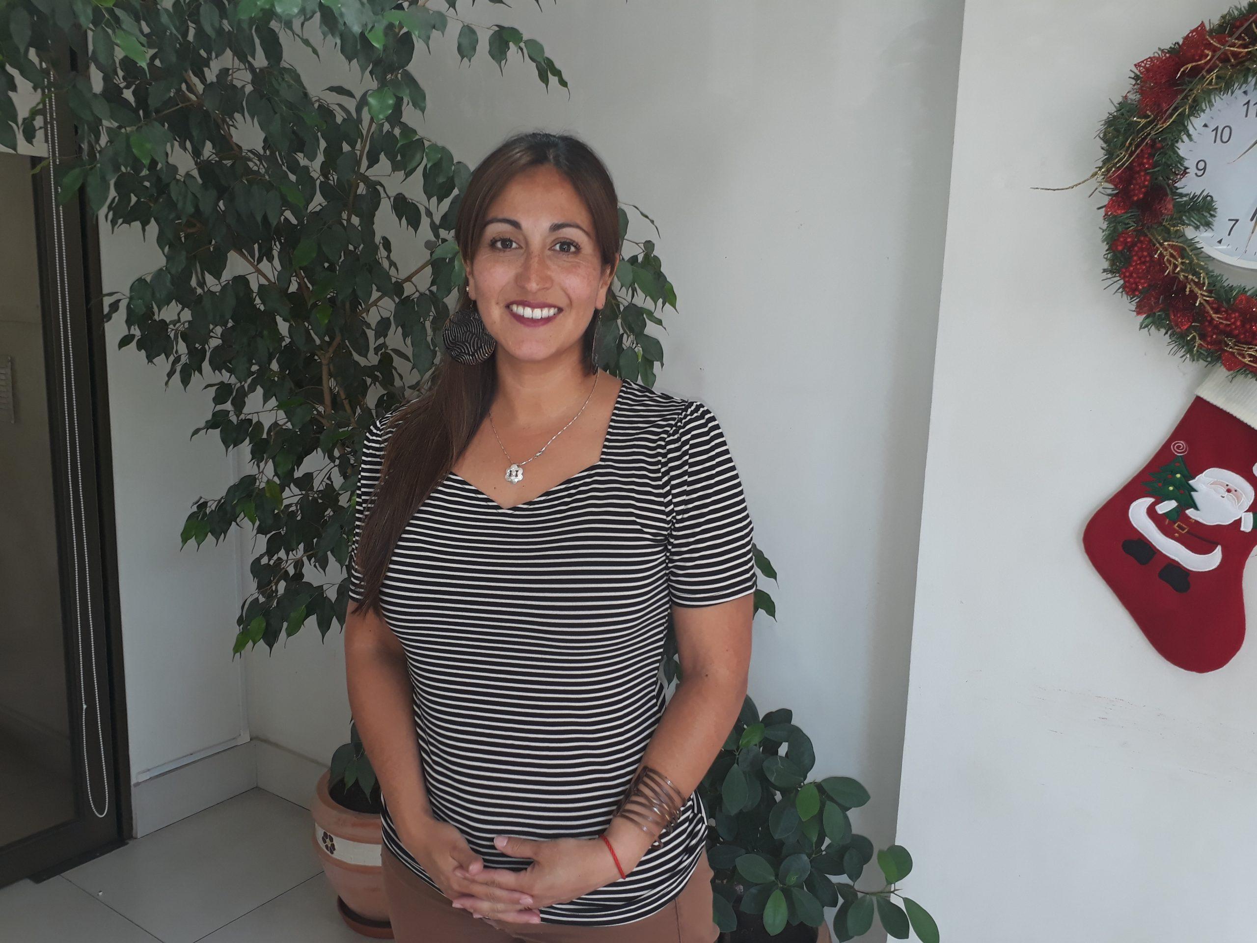 Yocelyn Brito Directora Corporacion Municipal de Deportes. Talca