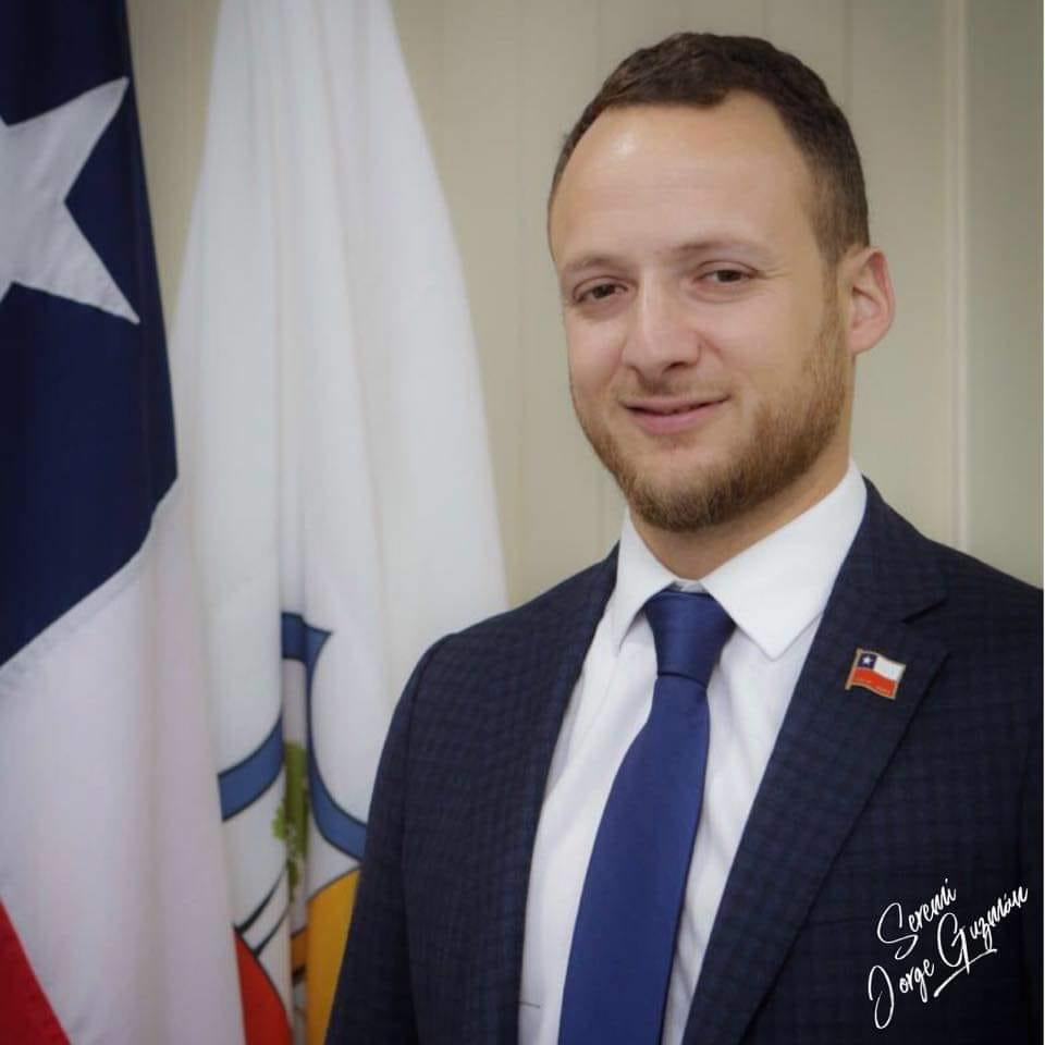 Jorge Guzmán Cepeda Seremi de Gobierno.